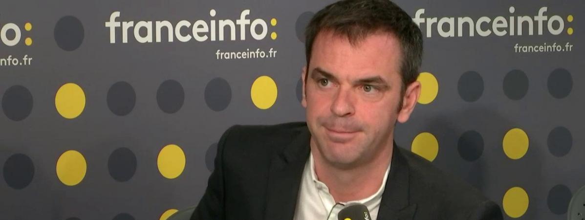 Olivier Véran sur Franceinfo