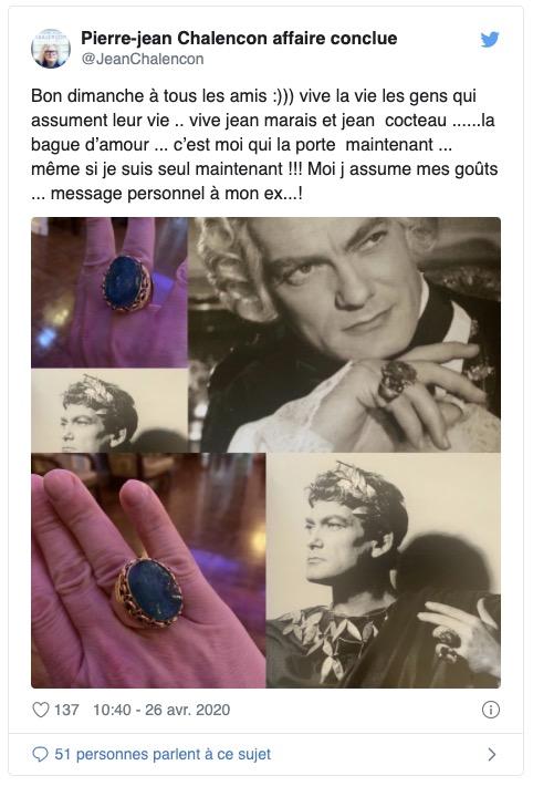 Pierre-Jean Chalençon Twitter
