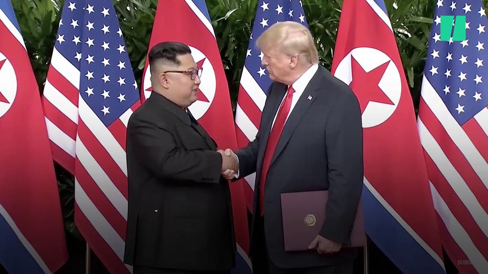 Rencontre entre Donald Trump et Kim Jong-Un