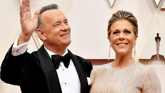 Tom Hanks et son épouse