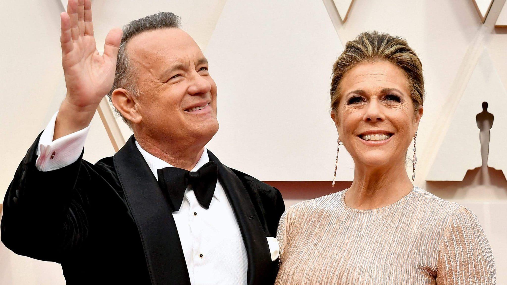 Tom Hanks et son épouse