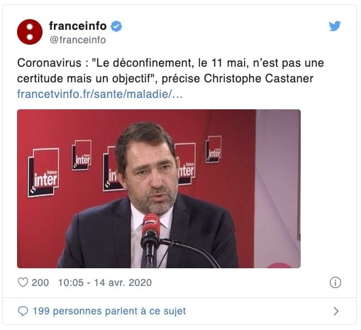 Christophe Castaner s'exprime sur France Info