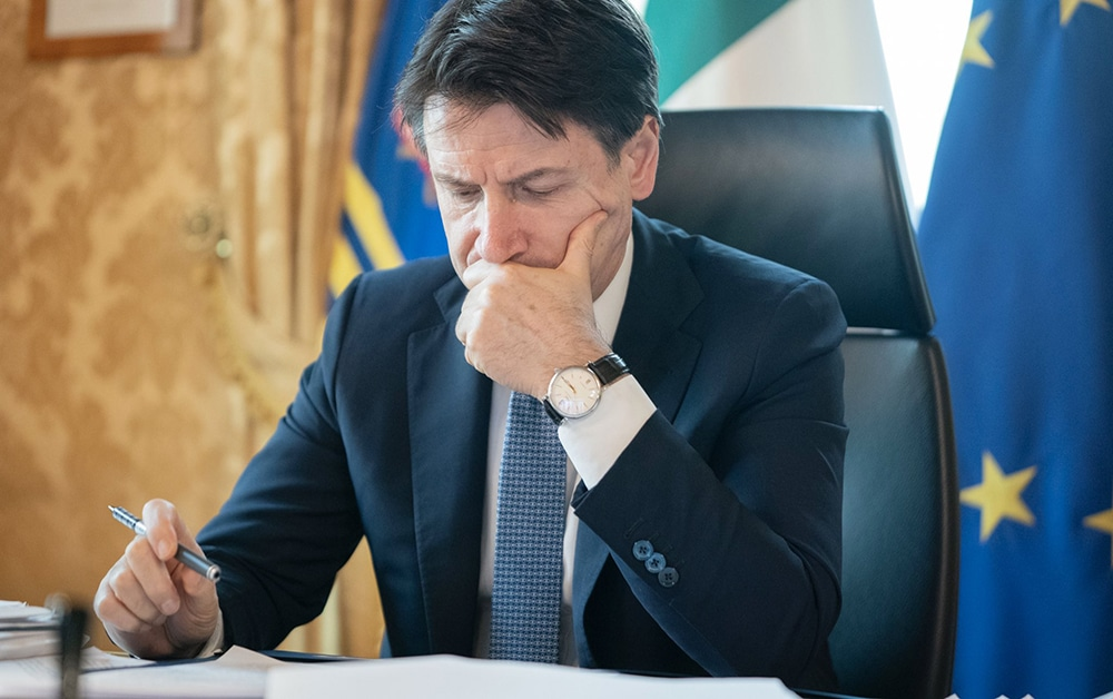 Giuseppe Conte va présenter le déconfinement en Italie la semaine prochaine