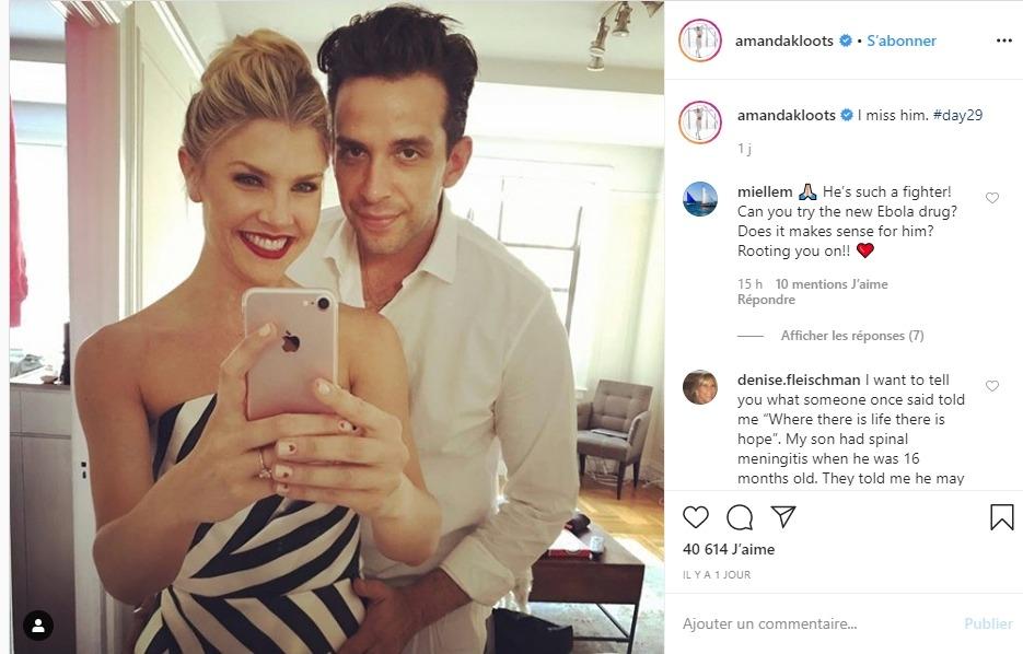Amanda Kloots et Nick Cordero