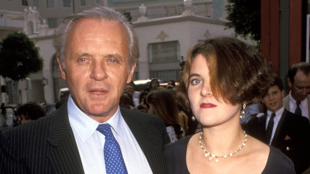 Anthony Hopkins et sa fille