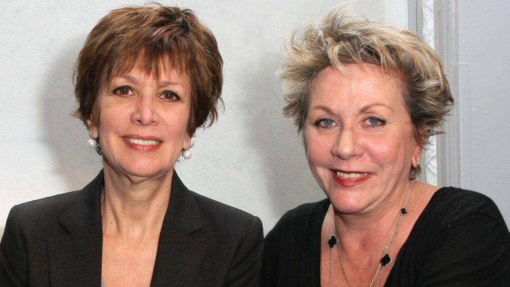 Catherine et Françoise Laborde