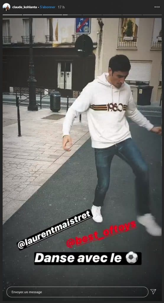 Claude et Laurent sur instagram
