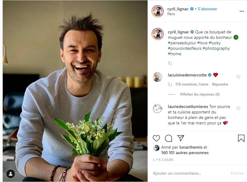 Cyril Lignac sur instagram