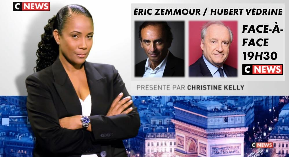 Eric Zemmour Face à l'info sur CNews