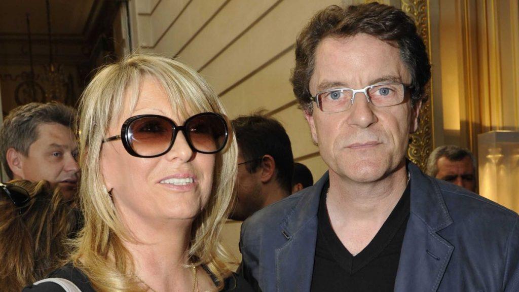 Francis Cabrel et sa femme