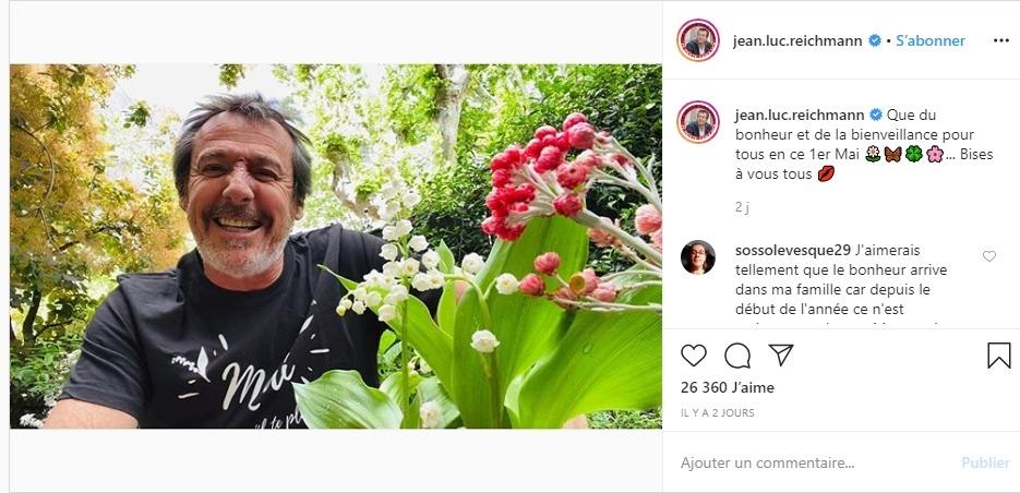 Jean-Luc Reichmann sur instagram