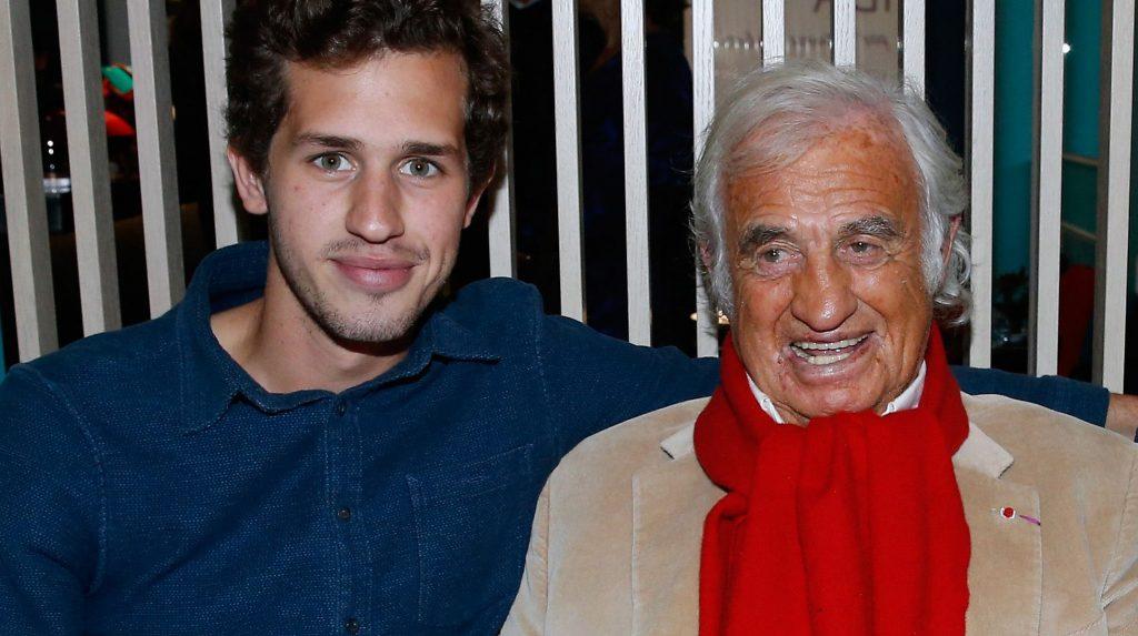 Jean-Paul Belmondo et son petit fils