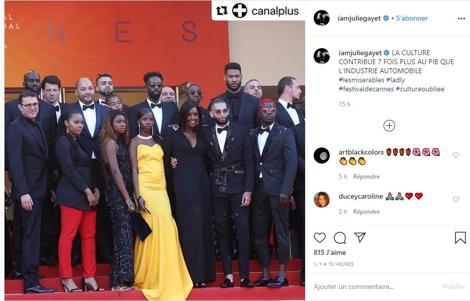 Julie Gayet sur Instagram