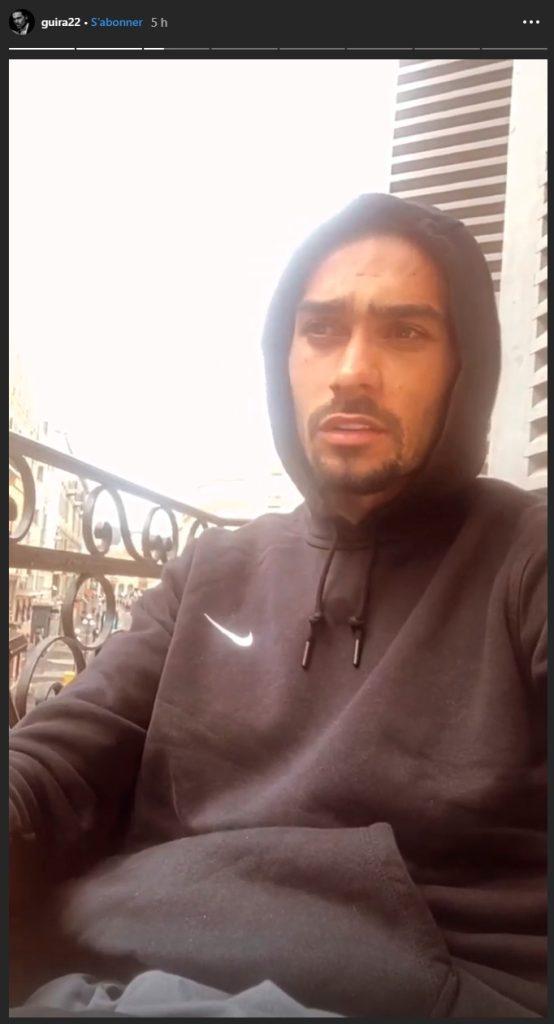 Julien Guirado avoue tout sur instagram