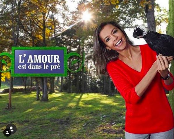 Karine Le Marchand Amour dans le pré