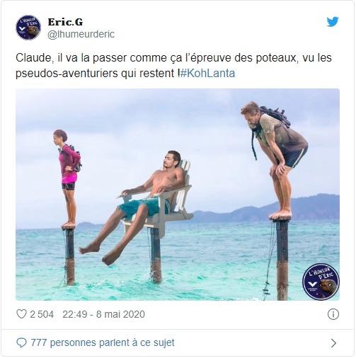 Koh-Lanta Claude