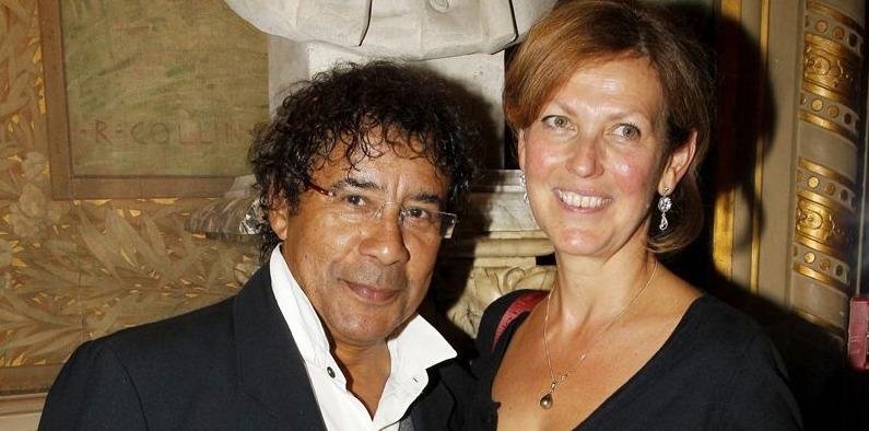 Laurent Voulzy et sa femme