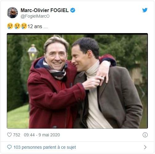 Marc-Olivier Fogiel sur twitter