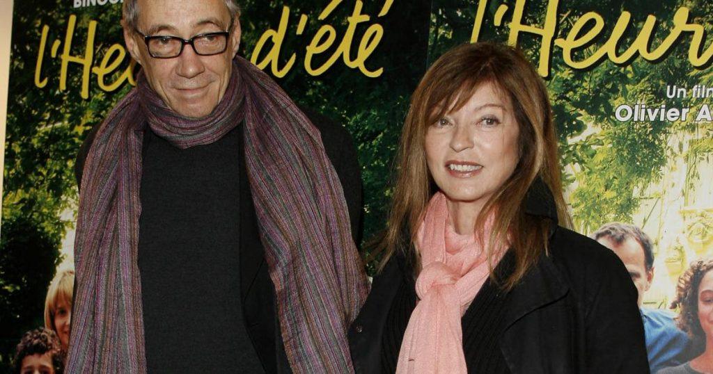 Marie-France Pisier et son mari