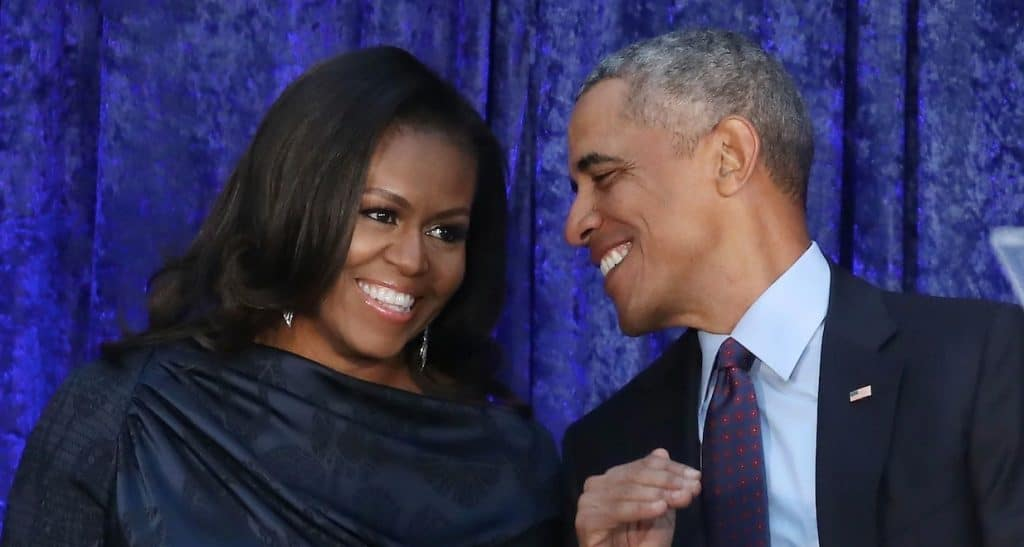 Michelle Obama et Barack Obama