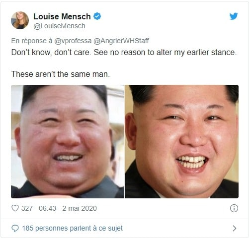 Rumeur twitter Kim Jong-un