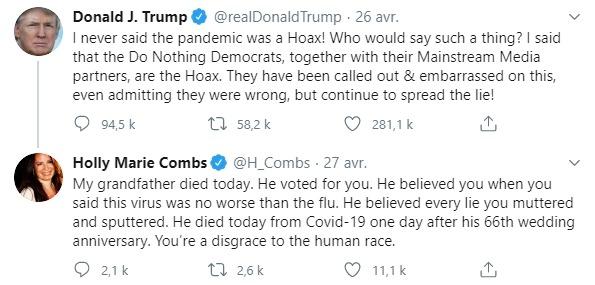 Tweet de Holly Marie Combs
