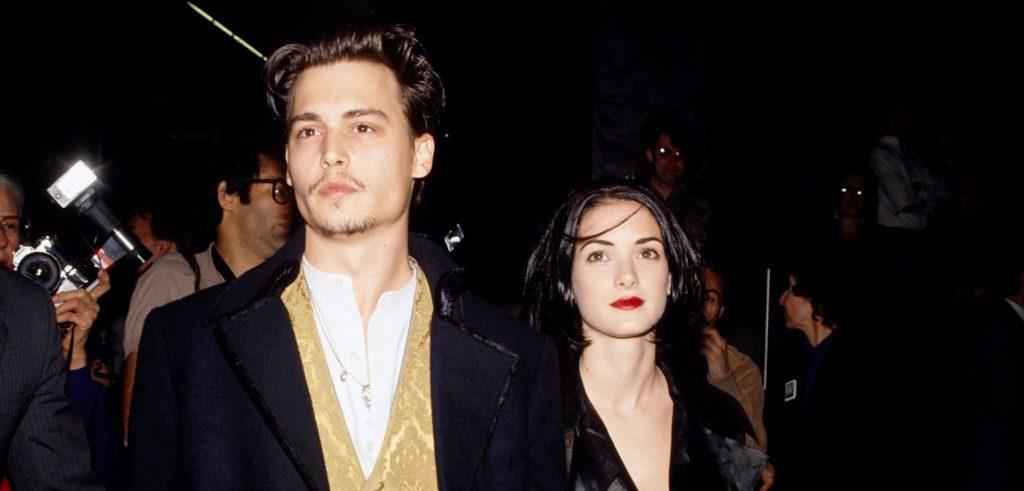 Winona Ryder et Johnny Depp