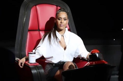 Amel Bent, jury de The Voice