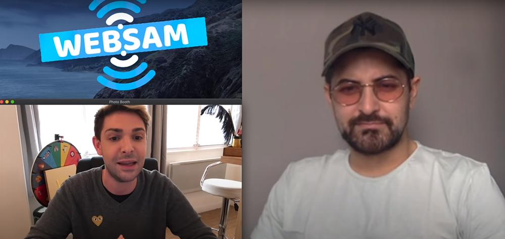 Antonin Portal des Marseillais balance la production au Youtubeur WebSam