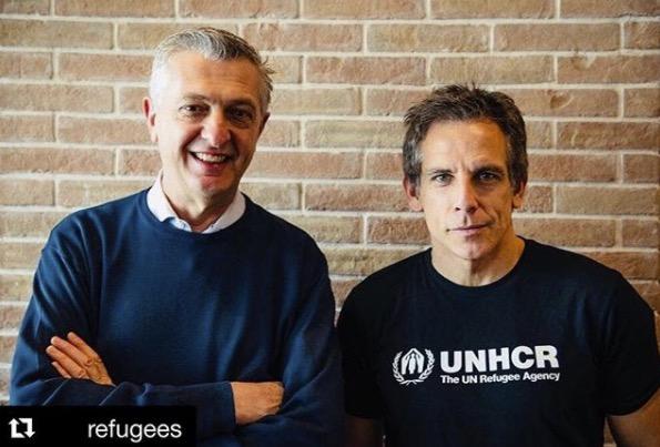 Ben Stiller ambassadeur de l'UNHCR
