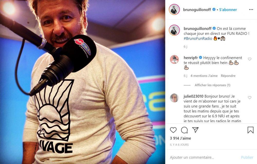 Bruno Guillon anime la matinale de Fun Radio