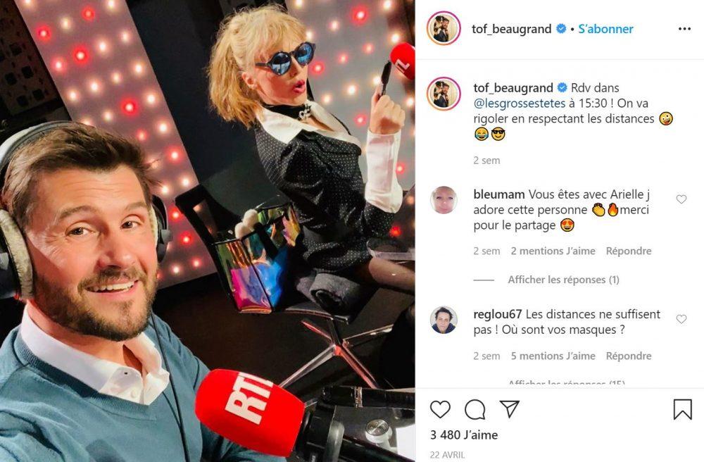 Christophe Beaugrand sur RTL pour les Grosses Têtes