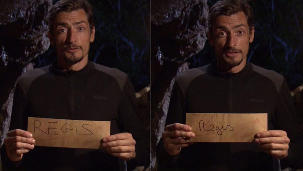 Claude élimine Régis en votant deux fois contre lui