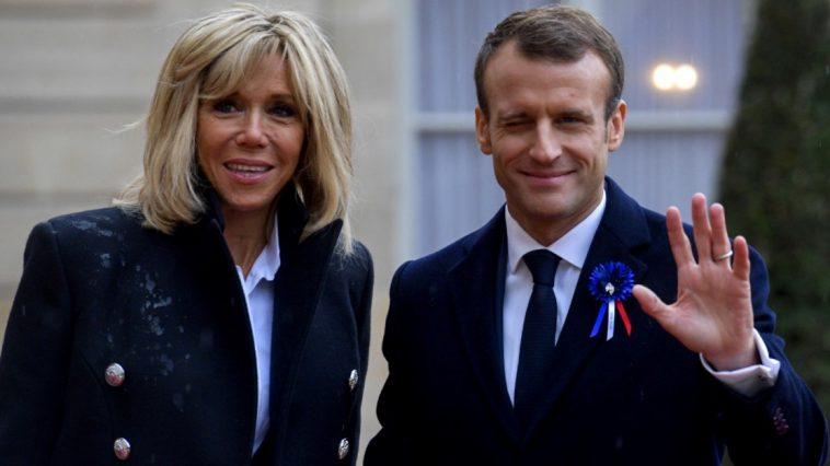 Le couple présidentiel Macron