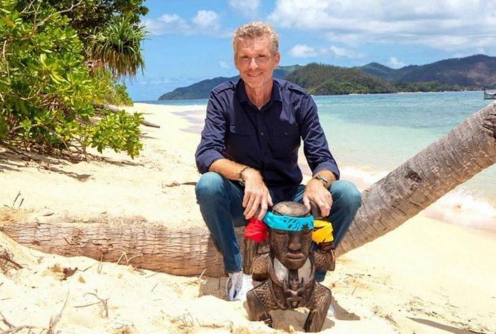 Denis Brogniart est lanimateur de Koh-Lanta