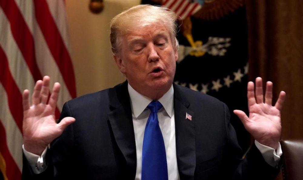 Donald Trump accuse la pire crise jamais vécue par les Etats-Unis