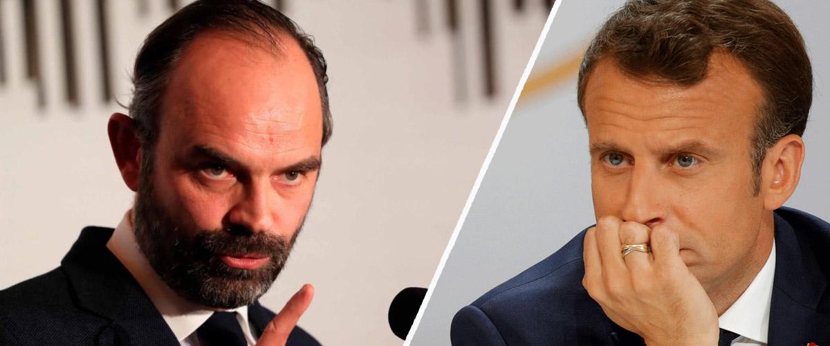 Edouard Philippe / Emmanuel Macron
