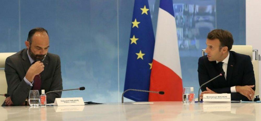 Emmanuel Macron et Edouard Philippe travaillent pour relancer l'économie