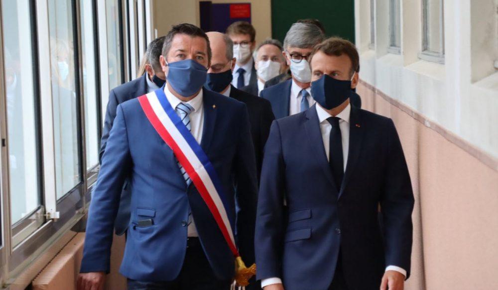 Emmanuel Macron prend la parole au sujet de la réouverture de lécole