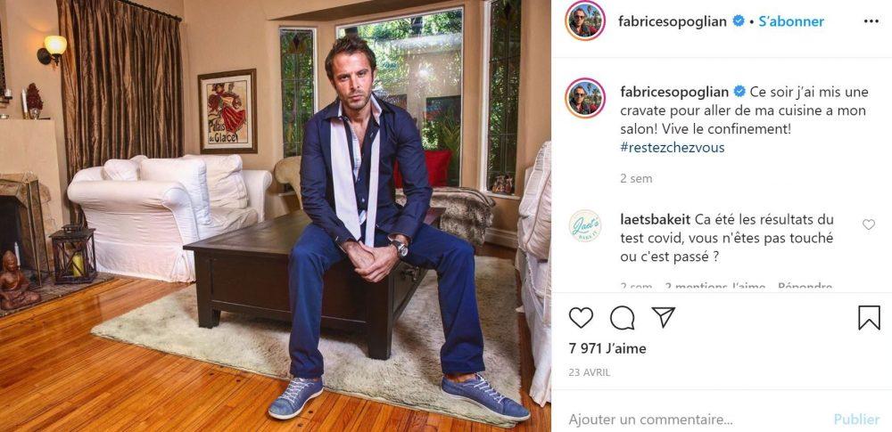 Fabrice Sopoglian est le parrain des Anges