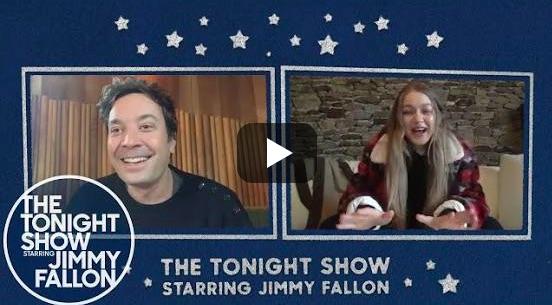 Gigi Hadid et Jimmy Fallon