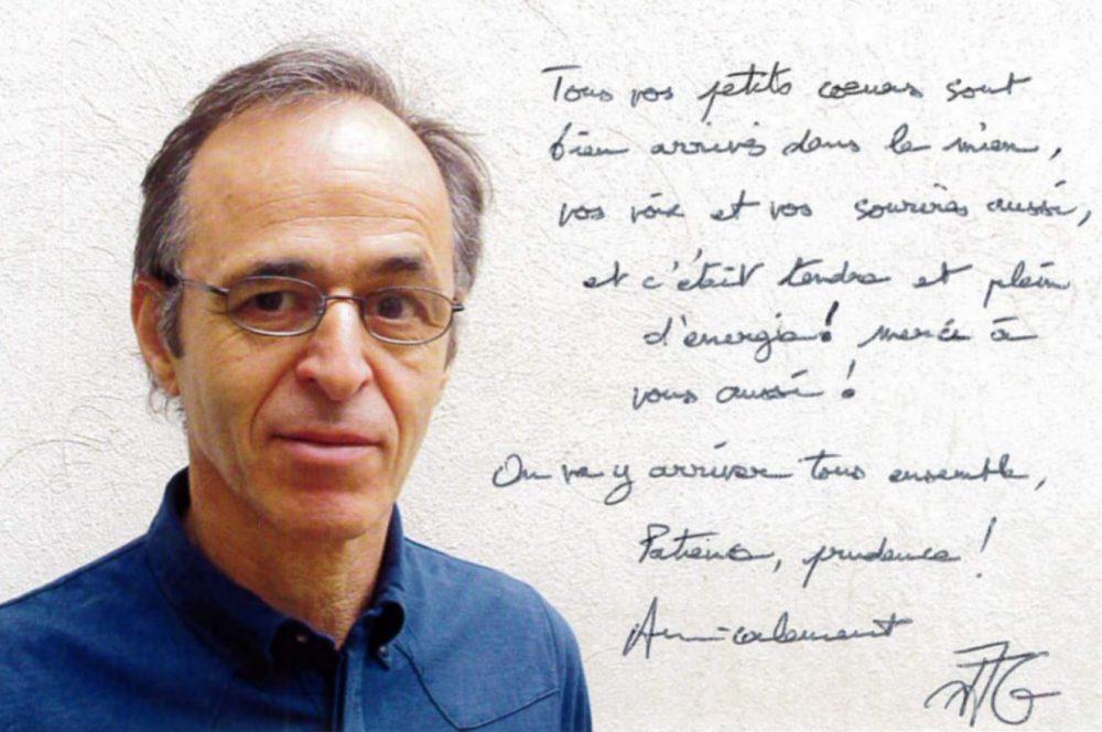 Jean-Jacques Goldman remercie une école pour son clip