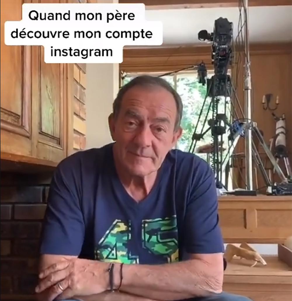 Jean-Pierre Pernaut et sa fille Lou se clashent sur Tik Tok !