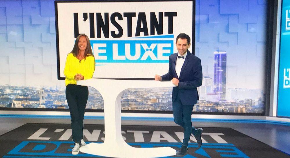 Jordan De Luxe anime l'Instant de Luxe