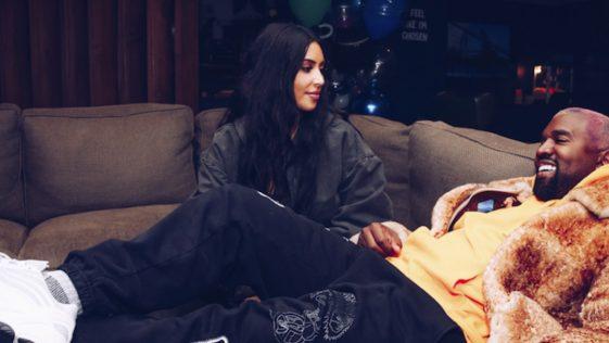 Kim Kardashian avec Kanye West