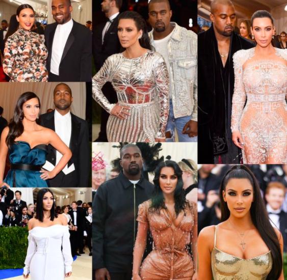 De 2013 à 2019, les looks de Kim Kardashian au Met Gala