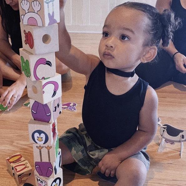La fille de Kim Kardashian
