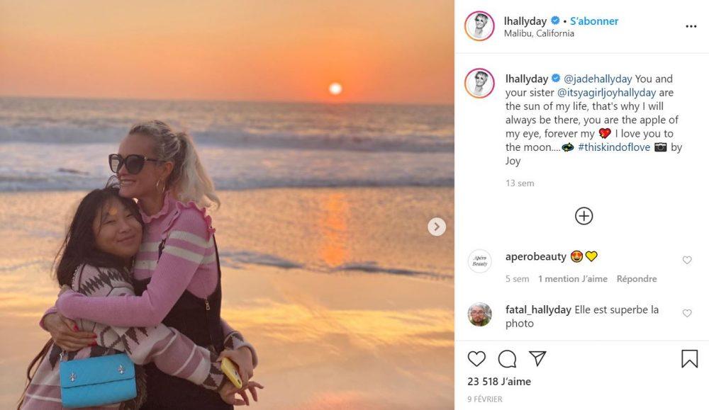 Laeticia Hallyday : ses filles lui offrent la meilleure fête des mères de sa vie