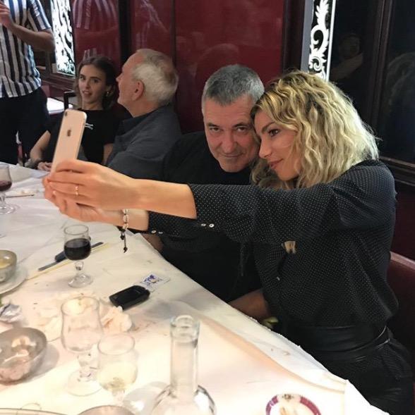 Lola Marois et son mari Jean-Marie Bigard