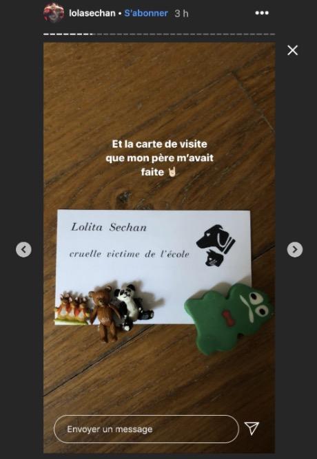 Lolita Séchan dévoile ses souvenirs